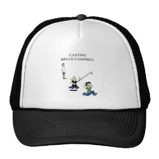 Casting Bruce Campbell Baseball Hat