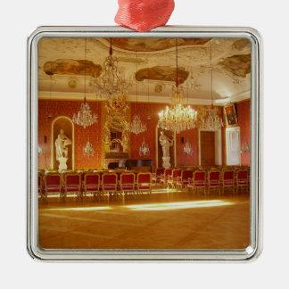 castle-79311 Silver-Colored square decoration