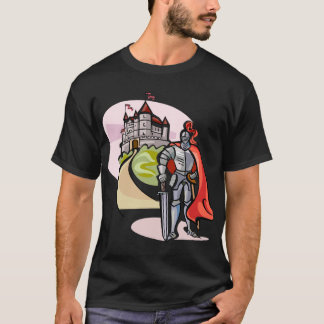 Castle and Knight T-Shirt