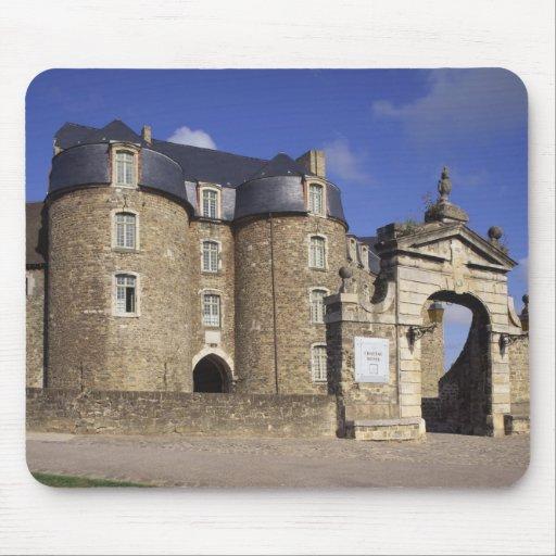 Castle and Museum, Boulogne, Pas-de-Calais, Mousepad