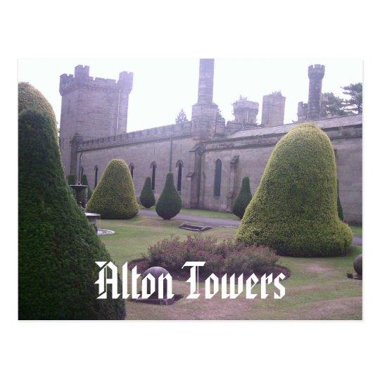 Castle at Alton Towers Postcard