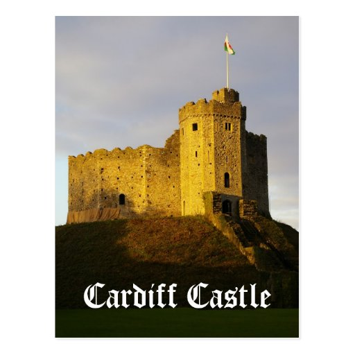 Castle at Sunset Post Card