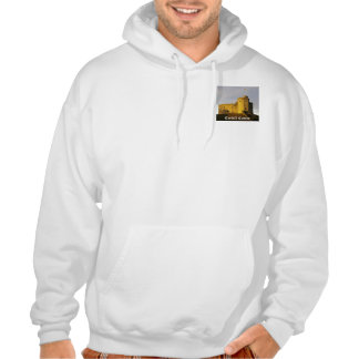 Castle at Sunset Hooded Pullover