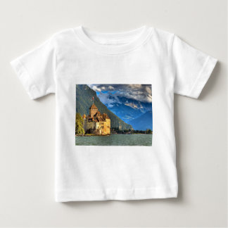 Castle by the lake baby T-Shirt