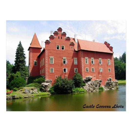 Castle Cervena Lhota Postcard