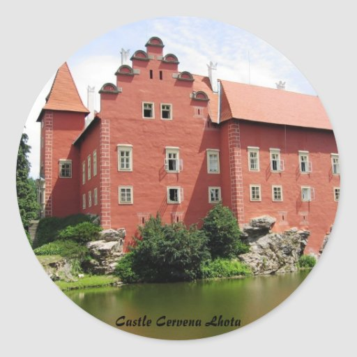 Castle Cervena Lhota Sticker