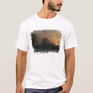 Castle Charlottenhof, Sunset T-Shirt