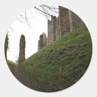 Castle Classic Round Sticker