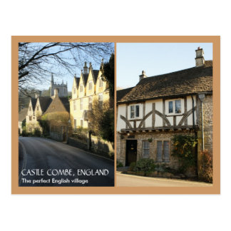 Castle Combe Postcard