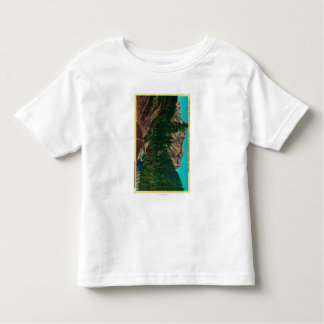 Castle Crags State Park from US 99 Toddler T-Shirt