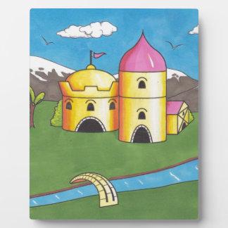 Castle Display Plaque
