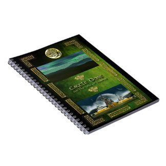 Castle Dore and Vale of Lyonesse Spiral Notebook