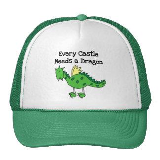 Castle Dragon Cap