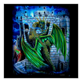 Castle Dragon climbs the walls