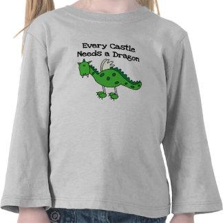 Castle Dragon Shirts