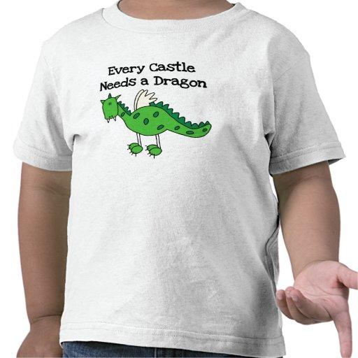 Castle Dragon Tee Shirt