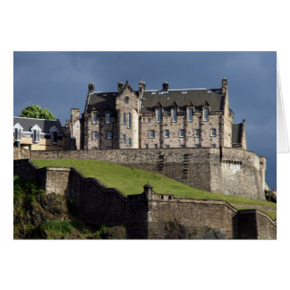 castle edinburgh card