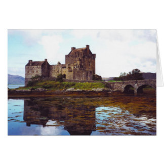 Castle Eilean Donan, Loch Duich, Scotland Greeting Card