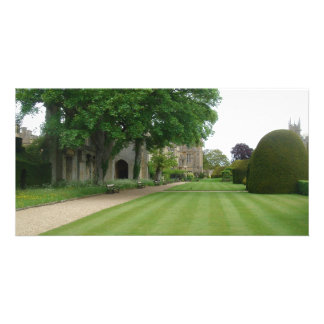 Castle Gardens Gift Card, British Countryside & At Customised Photo Card