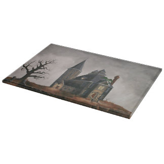 Castle Glass Cutting Board
