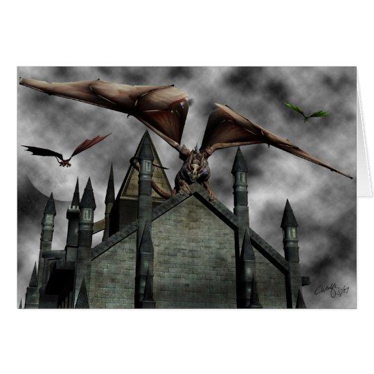 'Castle Guardians' Card