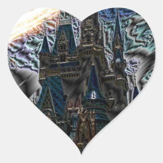 castle heart sticker