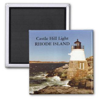 Castle Hill Light, Rhode Island Magnet
