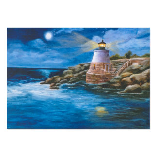 Castle Hill Lighthouse Art Card Business Card Template