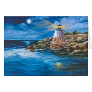 Castle Hill Lighthouse Blank Card