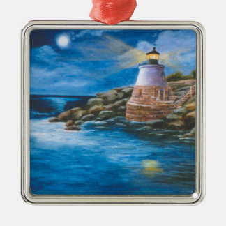 Castle Hill Lighthouse Christmas Ornament