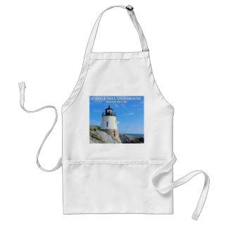 Castle Hill Lighthouse, Rhode Island Standard Apron