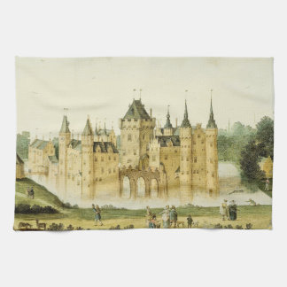 Castle Holland Egmond Dutch Europe Kitchen Towel