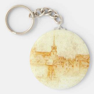 Castle in Amboise Key Ring