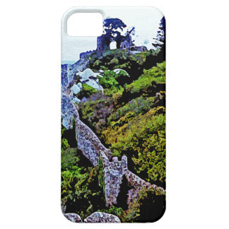 Castle in Sintra Portugal Barely There iPhone 5 Case
