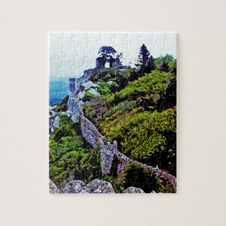 Castle in Sintra Portugal Puzzles