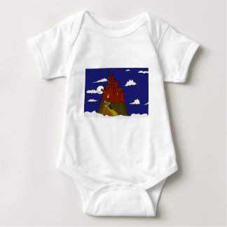 Castle in the clouds baby bodysuit