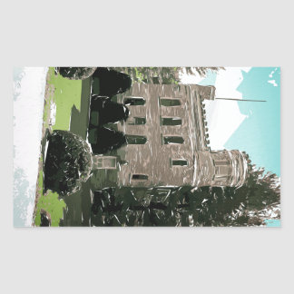 Castle In The Pines Sticker