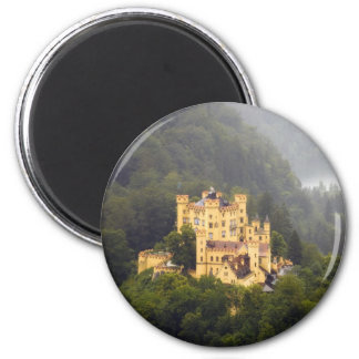 Castle In The Trees 6 Cm Round Magnet