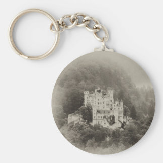Castle In The Trees Basic Round Button Key Ring