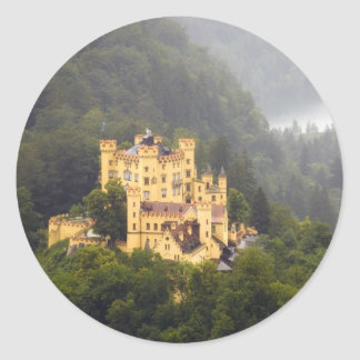 Castle In The Trees Classic Round Sticker