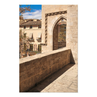 Castle in Valencia, Spain Photo Print