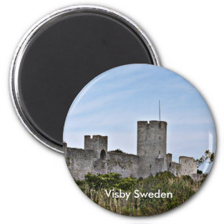 Castle in Visby, Visby Sweden Magnet