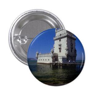 Castle in water, Lisbon, Portugal Pin