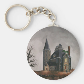 Castle ,Keychain Key Ring