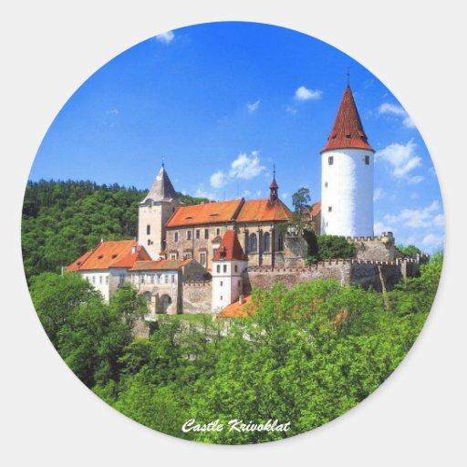 Castle Krivoklat Sticker