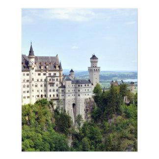 Castle Neuschwanstein Bavaria Germany Full Color Flyer