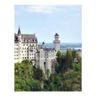 Castle Neuschwanstein Bavaria Germany Flyer Design