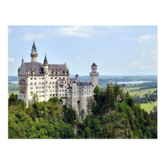 Castle Neuschwanstein Bavaria Germany Postcard