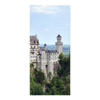 Castle Neuschwanstein Bavaria Germany Customized Rack Card
