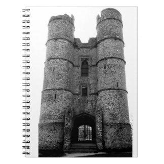 Castle - Notepad Spiral Notebooks